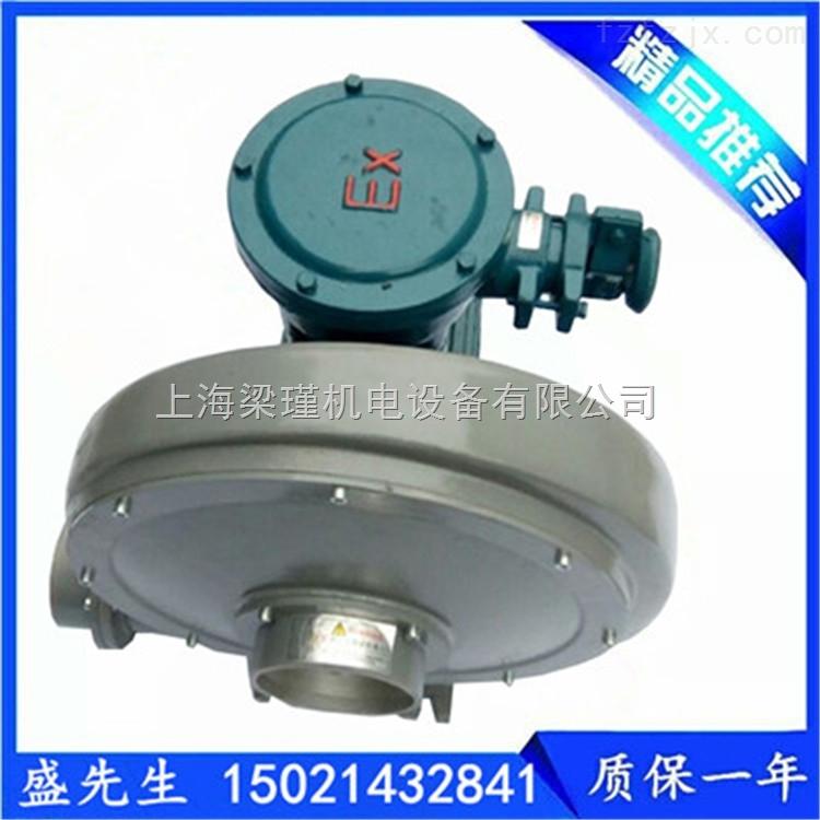 0.75KW-沼气设备专用防爆鼓风机/中压防爆鼓风机